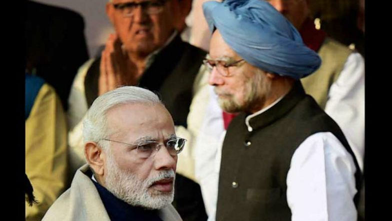 Manmohan Singh puts blame on Modi government for