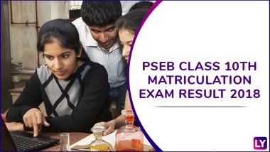 PSEB Results 2018: Punjab Board Released Class 10th Merit List at pseb.ac.in, 59.47% Pass