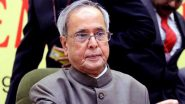 Pranab Mukherjee, Former President of India, Tests Positive for COVID-19