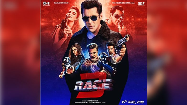 Race 3 New Poster: Salman Khan Stands Tall in This New Visual!