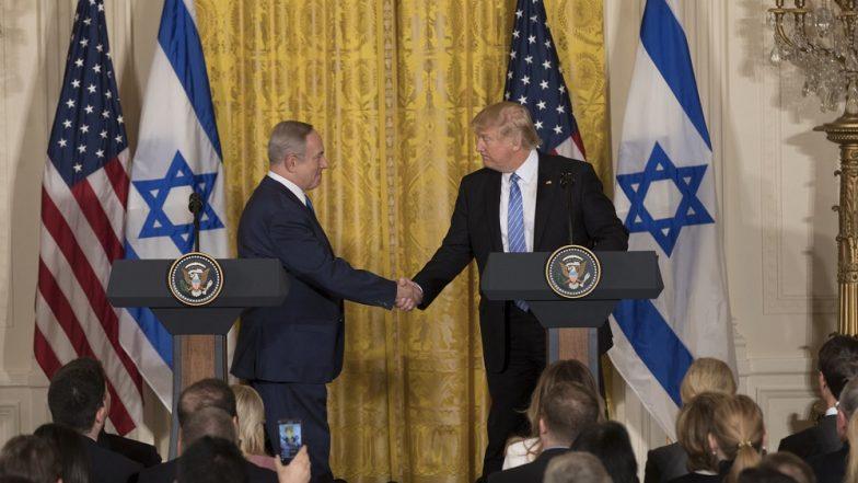 Donald Trump Signs US Recognition of Israeli Sovereignty Over Golan Heights