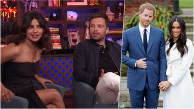 Priyanka Chopra and Sebastian Stan to Attend Meghan Markle-Prince Harry Royal Wedding as 'Couple', This Video Would Make You Wish So!