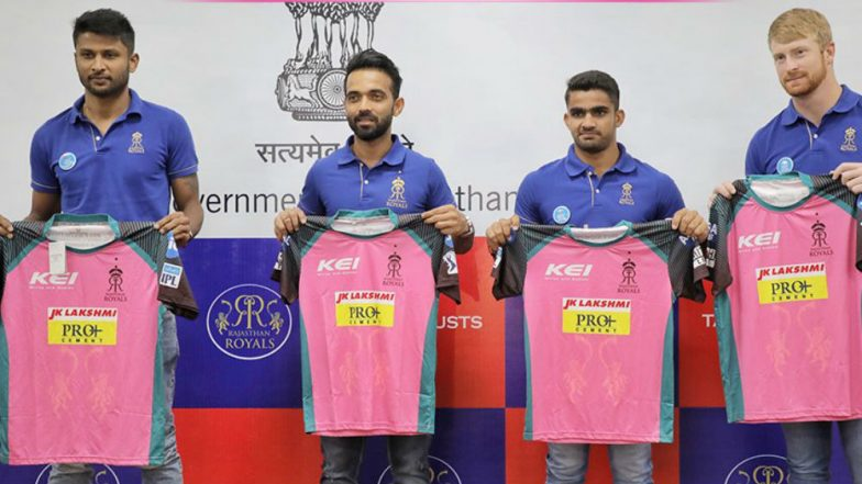 IPL 2018 RR vs CSK: Rajasthan Royals to Wear Pink Jersey for Cancer Awareness