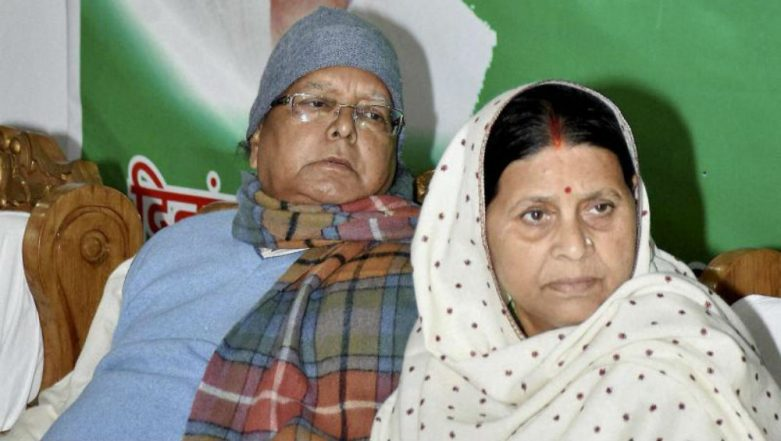 'I Miss Lalu Ji', Says Rabri Devi; Appeals Tej Pratap Yadav to Return Home