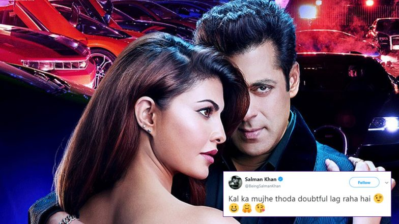 Salman Khan Teases Fans, Tweets That the Race 3 Trailer Might Be Delayed Further