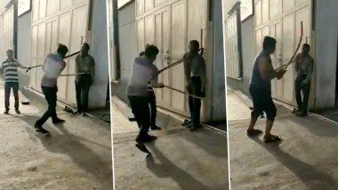 Dalit Man Flogged to Death in Gujarat's Rajkot, Jignesh Mevani Shares Clip
