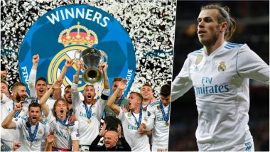 Real Madrid vs Liverpool Highlights Video of 2018 Champions League Final: Gareth Bale Scores Twice to Crush Liverpool 3-1 in Kiev
