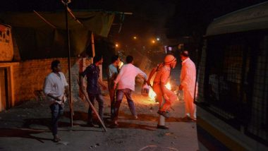 Aurangabad Rioters Who Torched Vehicles Were Accompanied by Police, Watch Video