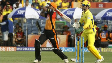 Ahead of SRH vs CSK IPL 2018 Qualifier 1, Here's a Quick Recap of Previous Two Matches Between These Teams