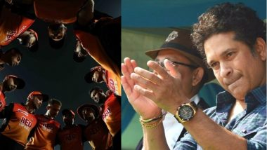 Sachin Tendulkar Has a Heartfelt Message for IPL 2018 Runner-Up SRH
