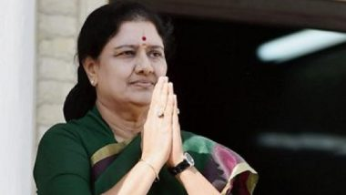 VK Sasikala Pays Rs 10 Crore Fine, Release from Jail Expected; Tamil Nadu CM K Palaniswami Says AIADMK Will Be Away from Her
