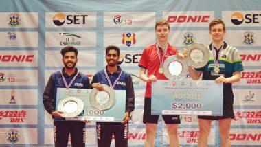 ITTF Challenge Thailand Open 2018: Sathiyan Gnanasekaran and Sanil Shetty Bag Silver Medal