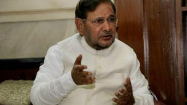 Modi Government Not Helping Flood-ravaged Kerala, Says Sharad Yadav
