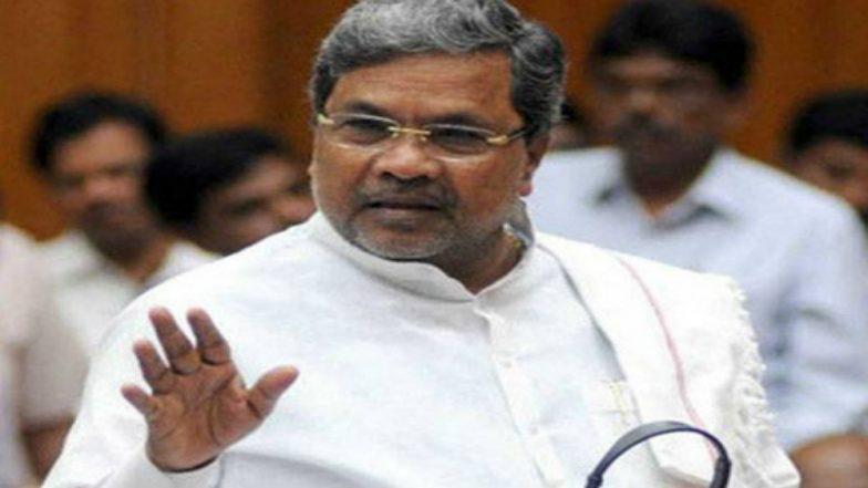 Karnataka Elections 2018: Ready to Sacrifice Chief Minister Post for Dalit, Says Siddaramaiah
