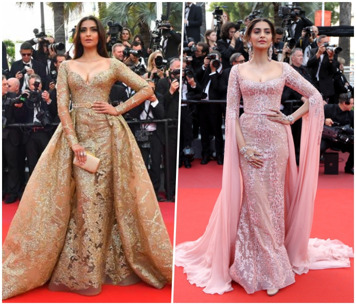 Deepika Padukone's Cannes 2018 debut saw her in a completely sheer gown