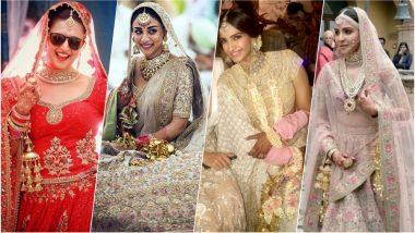 Sonam Kapoor Wears Kalira in Pics: Divyanka Tripathi to Anushkha Sharma, Celebrity Brides Who Wore Most Gorgeous Kalires!