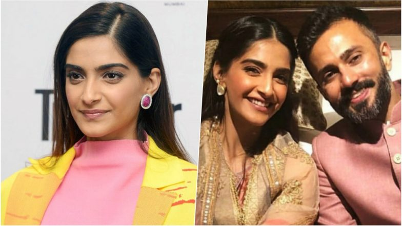Sonam Kapoor choses a gilded white designer lehenga for her mehandi
