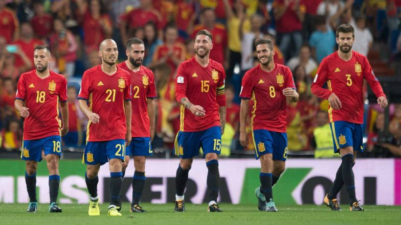 Spain Squad for 2018 FIFA World Cup in Russia: Lineup, Team Details, Road to Qualification & Players to Watch Out for in Football WC