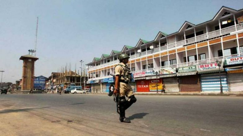 Restrictions in Srinagar to Prevent Protest Called by Separatists