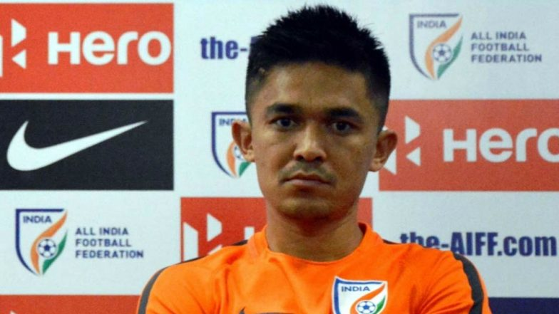 Sunil Chhetri Injury Update: Bengaluru FC Captain Ruled Out of ISL 2018-19 for Two Weeks Due to Ankle Injury!