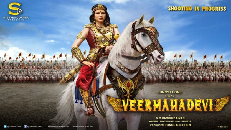 Did My Own Stunts for First Look of 'Veeramadevi', Says Sunny Leone
