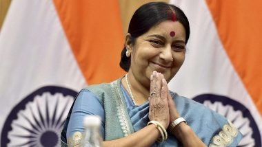 Sushma Swaraj Dies at 67: Arvind Kejriwal Condoles Demise of Former Foreign Affairs Minister, Says 'India Has Lost a Great Leader'