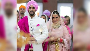 Neha Dhupia Angad Bedi Wedding: This Video of the Newlyweds Taking Their Pheras Is Priceless