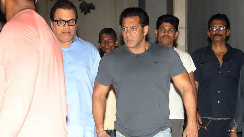A Visibly Upset Salman Khan Visits Ramesh Taurani, Is it About Race 3 Trailer? - View Pics