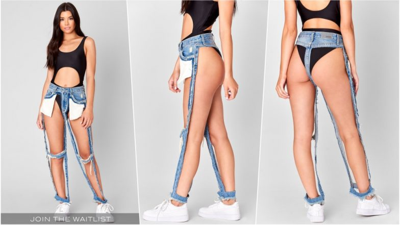 bca06a98c8dd Thong Jeans are a Hit However You May Laugh at It! There s Waitlist for  Denim