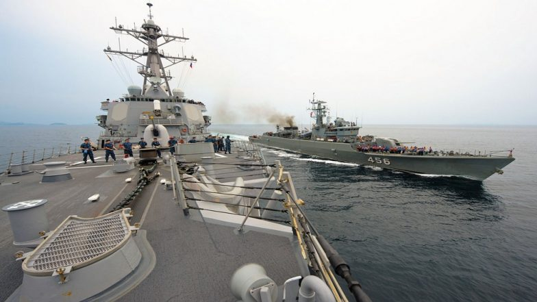 USA  warships 'seriously infringed' on China - Beijing military chiefs