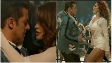 Race 3 song Heeriye: Jacqueline Fernandez Is Finding It Hard to Keep up With Salman Khan – Watch BTS Video