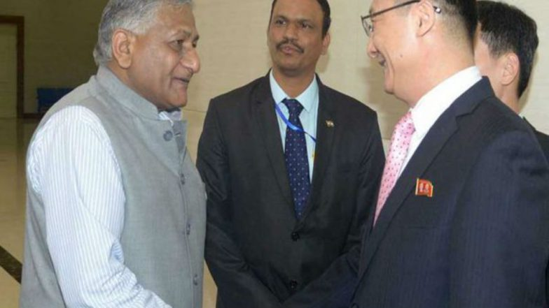 VK Singh in Pyongyang: First High Level Visit by Indian Minister to North Korea in 20 Years