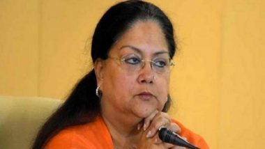 Vasundhara Raje Asked Congress MLAs to Support Ashok Gehlot Govt, Alleges NDA Ally