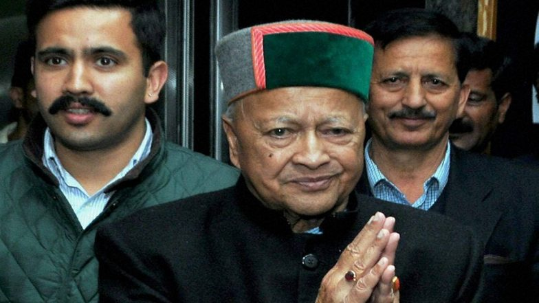 Case Lodged Against Former Himachal Pradesh Chief Minister Virbhadra Singh and His Son For Trespassing Padam Palace