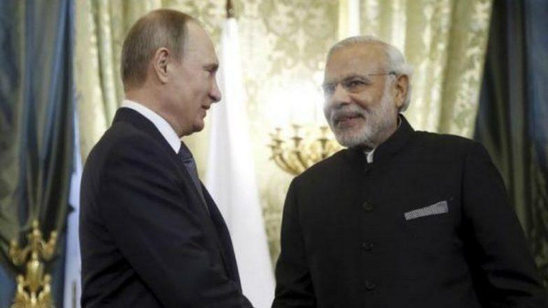 India Russia Summit: PM Narendra Modi and Vladimir Putin to Hold Informal Meeting in Sochi