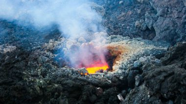 Japan: Volcanic Mount Shindake Erupts in Kuchinoerabu Island