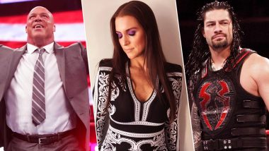 WWE Monday Night RAW Video Highlights: Kurt Angle, Roman Reigns And Stephanie McMahon Steal The Show!