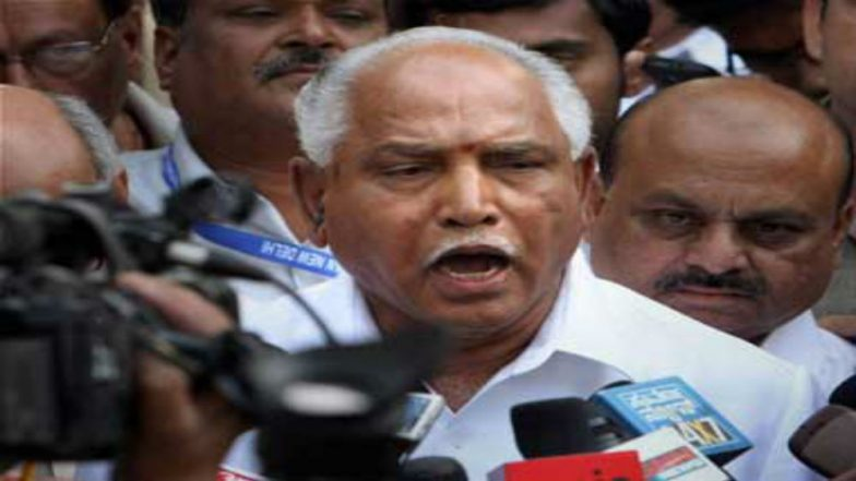 B S Yeddyurappa Dismisses Audio Clips Released on Him by CM H D Kumaraswamy as 'Fake'