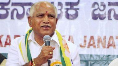 Karnataka Trust Vote: BJP Leader BS Yeddyurappa Thanks Home Minister Amit Shah for Extending Support