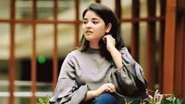 Zaira Wasim Announces Discontinuation From Films, They Interfere With Her Faith Says Bollywood Actress (View Post)