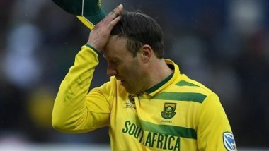 AB de Villiers Uses Indian Flag While Endorsing Wine! Netizens Slam South African Cricketer