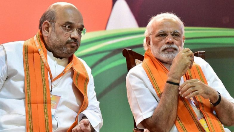 Narendra Modi to Contest From Varanasi, Amit Shah Gets Gandhinagar Seat in 1st BJP List for Lok Sabha Elections 2019, Check Full List Here
