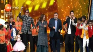 Dance India Dance Li'l Master Written Episode Update, May 5, 2018: Amitabh Bachchan And Rishi Kapoor Promote '102 Not Out' With The Kids