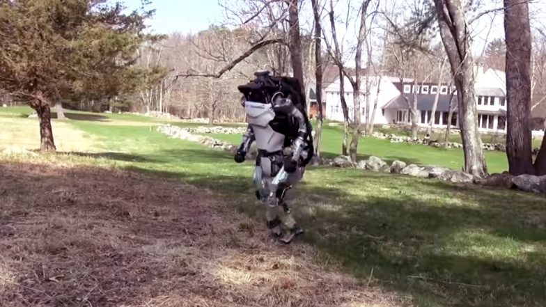 Humanoid Robot Atlas Can Run and Jump by Itself, See Video