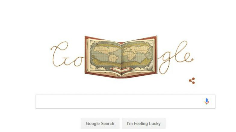 Abraham Ortelius Atlas 'Theatrum Orbis Terrarum' Hounored as Google Doodle, Know More about World's First Published Map