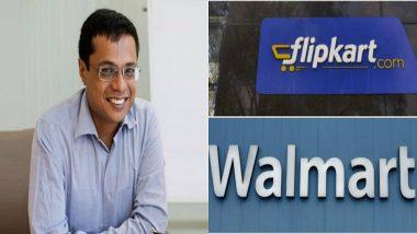 Sachin Bansal Issues Statement on Walmart-Flipkart Deal: Read Full Text