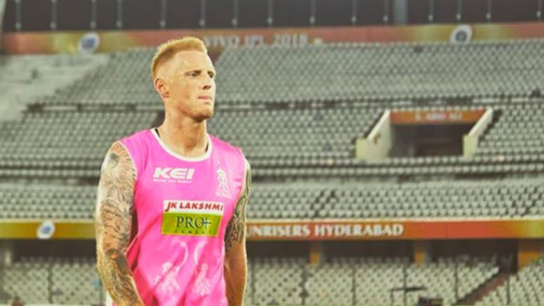 IPL 2018: Ben Stokes in a Heartfelt Message Says 'Gave Everything' to Rajasthan Royals