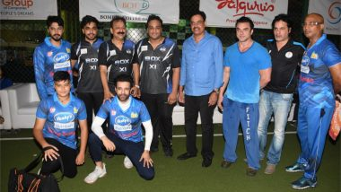 Sohail khan, Arbaaz khan, Karan Wahi and More Grace the Box-Bowl Out Xeries Cricket