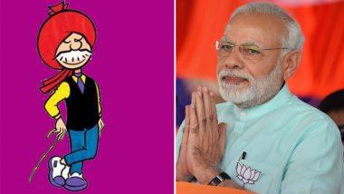 Chacha Chaudhary and Narendra Modi' Comic Books Introduced
