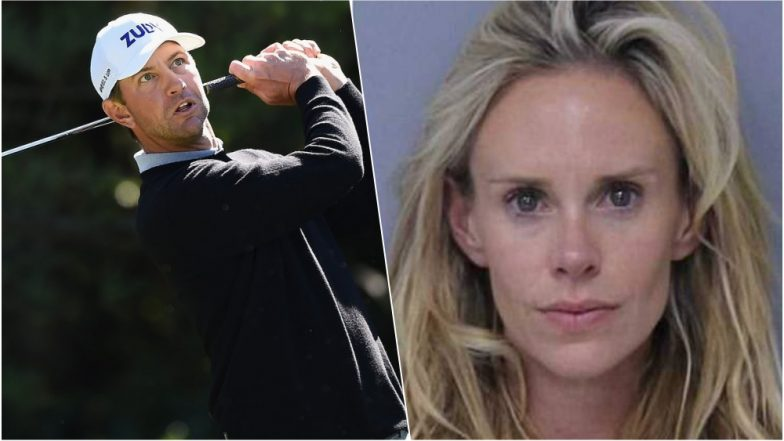Lucas Glover's wife faces domestic violence charge after golfer's poor round